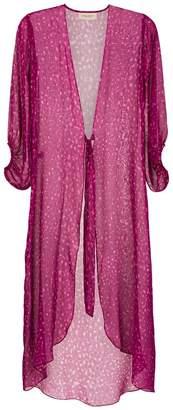 Adriana Degreas silk beach dress