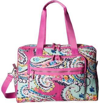 Vera Bradley Iconic Deluxe Weekender Travel Bag Bags