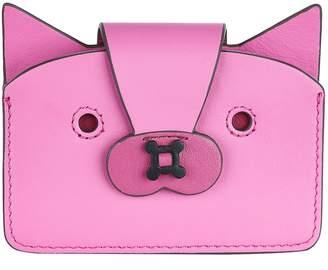 Anya Hindmarch Leather Fox Card Case