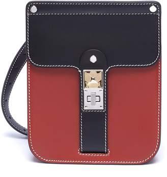 Proenza Schouler 'PS11' convertible colourblock leather crossbody box bag