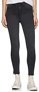 Rag & Bone Women's Ranti High-Rise Skinny Jeans - Gray