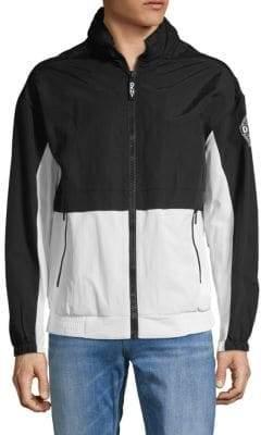 DKNY Colorblock Full-Zip Jacket