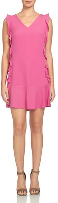CeCe by Cynthia Steffe Harper Ruffle-Trim Dress $138 thestylecure.com