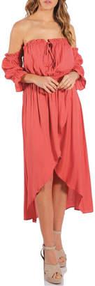 Elan International Hi Lo Dress