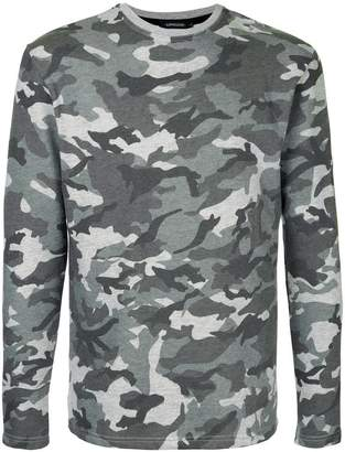 Loveless camouflage print sweatshirt