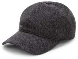 Barbour Men's Oakwell Sports Cap - Grey Herringbone