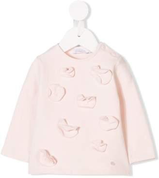 Patachou floral embellished sweatshirt