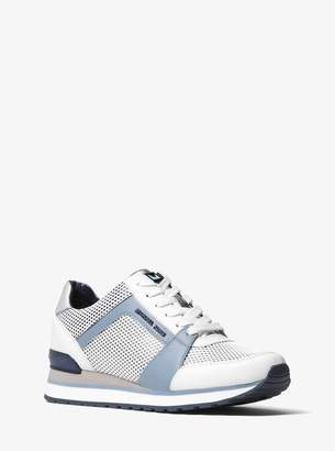 MICHAEL Michael Kors Billie Mesh and Leather Trainer