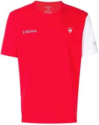 Ermenegildo Zegna logo print T-shirt