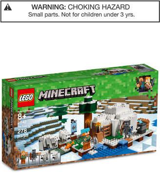 Lego Minecart Polar Igloo Set 21142