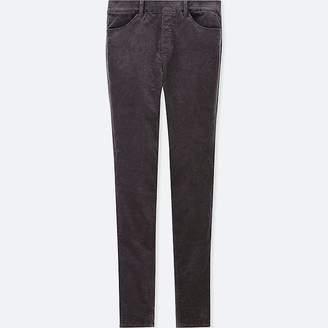 Uniqlo Women's Heattech High-rise Velvet Leggings Pants