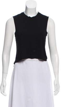 AllSaints Sleeveless Crew Neck Top