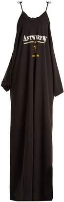Vetements Deconstructed cotton maxi dress