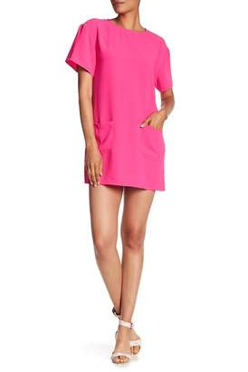 Amanda Uprichard Oliver Front Pocket Mini Dress