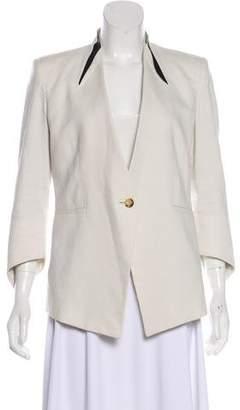 Helmut Lang Structured Single-Breasted Blazer