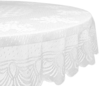 DESIGN IMPORTS Design Imports Lace Floral Tablecloth