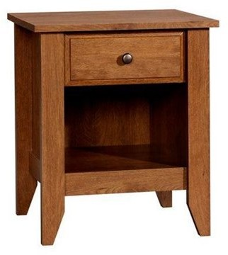 Sauder Shoal Creek Collection Nightstand, Oiled Oak