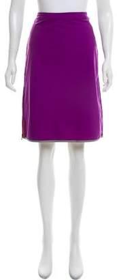 Prada Sport A-Line Knee-Length Skirt