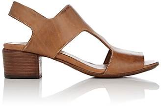 Marsèll Women's Distressed Leather Slingback Sandals $790 thestylecure.com