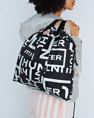 Hunter Packable Tote Sonic Logo