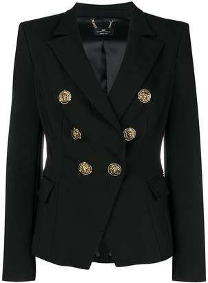 Elisabetta Franchi double breasted blazer