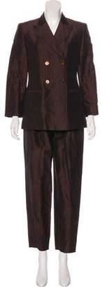 Max Mara Linen and Silk-Blend Pantsuit