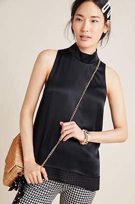 Maeve Janelle Mock Neck Tunic