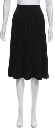 Ohne Titel Pleated Knee-Length Skirt