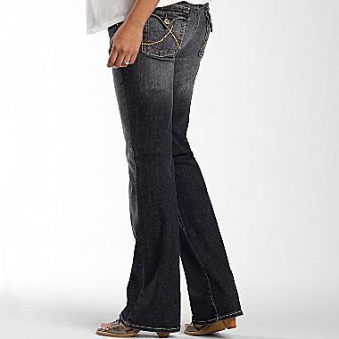JCPenney Common Genes® Underbelly Bootcut Jeans