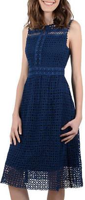 Molly Bracken Sleeveless Lace Midi Dress