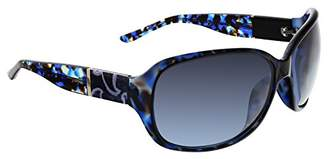 Vera Bradley Women's Ginnie Polarized Wrap Sunglasses