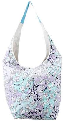 Emilio Pucci Oversize Floral Hobo