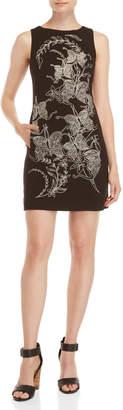 Desigual Embroidered Rotterdam Sheath Dress