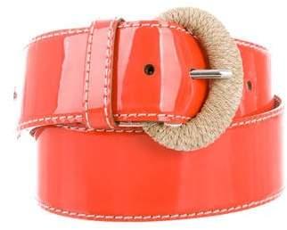 Dolce & Gabbana Patent Leather Belt
