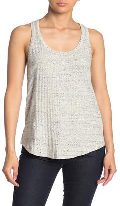 David Lerner Ruched Racerback Tank Top