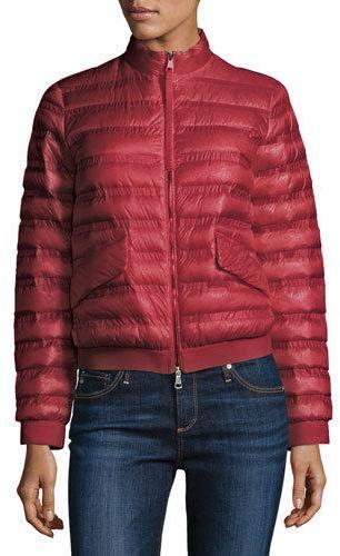 MonclerMoncler Violette Boxy Down Jacket, Pink