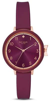 Kate Spade Park Row Purple Watch, 34mm
