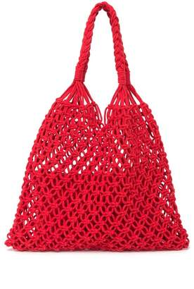 Urban Expressions Penelope Crochet Market Tote Bag