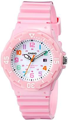 Casio Women's LRW-200H-4B2VCF Stainless Steel Watch with Resin Band
