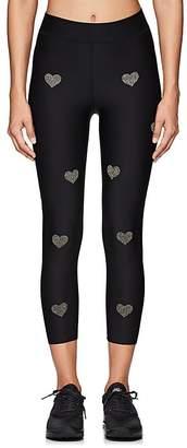 Ultracor Women's Crystal-Heart Sprinter Leggings