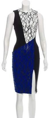 Elizabeth and James Knee-Length Printed Dress