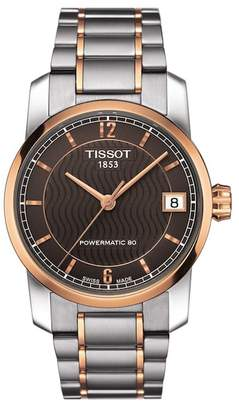 Tissot Women's Titanium PW80 Watch, 32mm