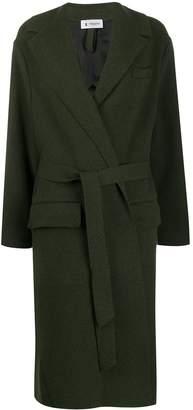 Barena oversized belted coat