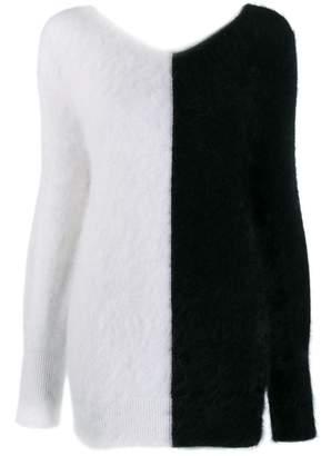 Valenti Antonino colour block jumper