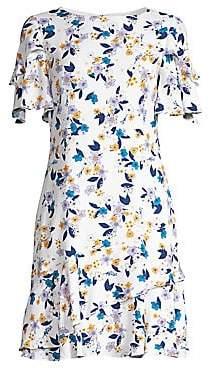 Shoshanna Women's Bianco Floral Print Dress