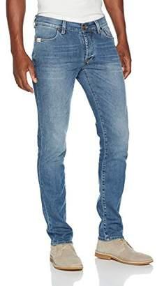 Jeckerson Men's 5Pkts Authentic DNM 10 1/2 Oz Slim Jeans,(Size: 33)