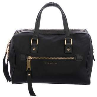 Marc Jacobs Leather-Trimmed Satchel Bag