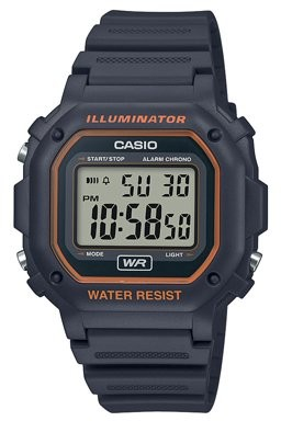 Casio Men's Illuminator Water Resistant Digital Watch - Gray