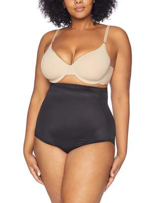 Naomi and Nicole Women's Plus-Size Unbelievable Comfort Plus Hi Waist Brief