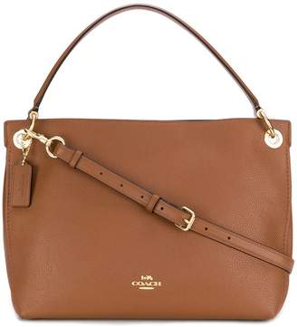 Coach Pebble leather Clarkson shoulder bag